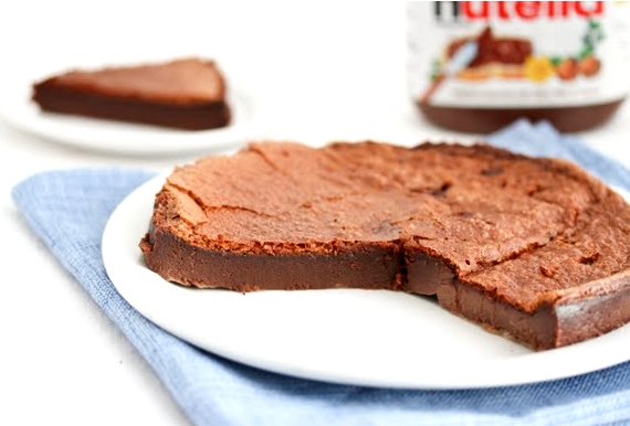 Amazing Nutella Cake
