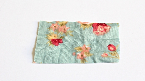 DIY necklace fabric