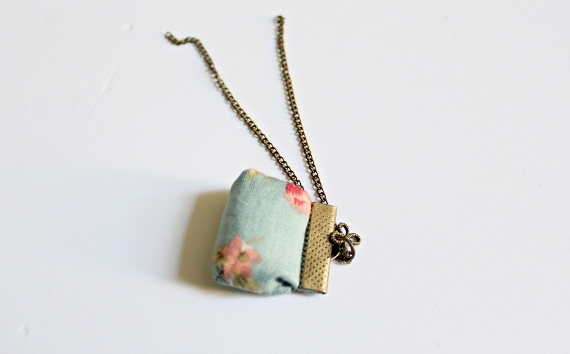 DIY vintage necklace 7