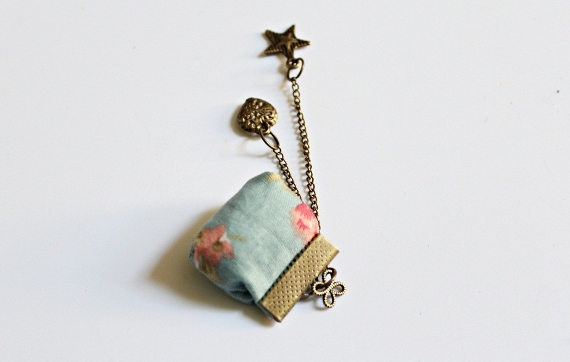 DIY vintage necklace 8