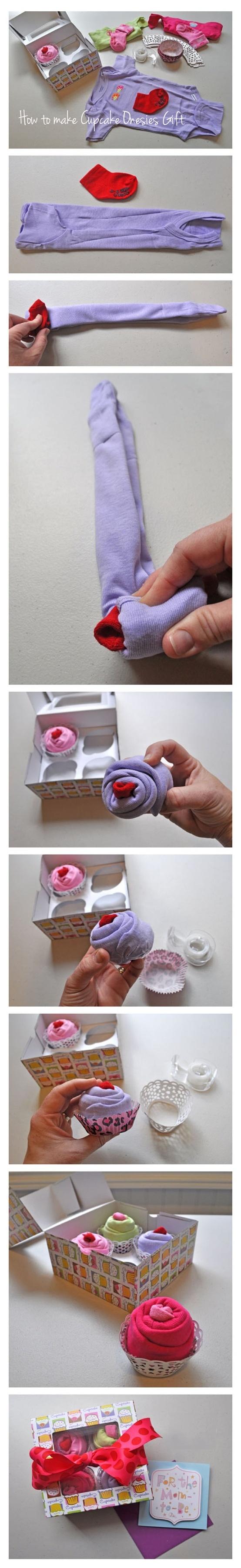Original Cupcake Onesies Gift