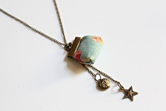 DIY vintage necklace 9