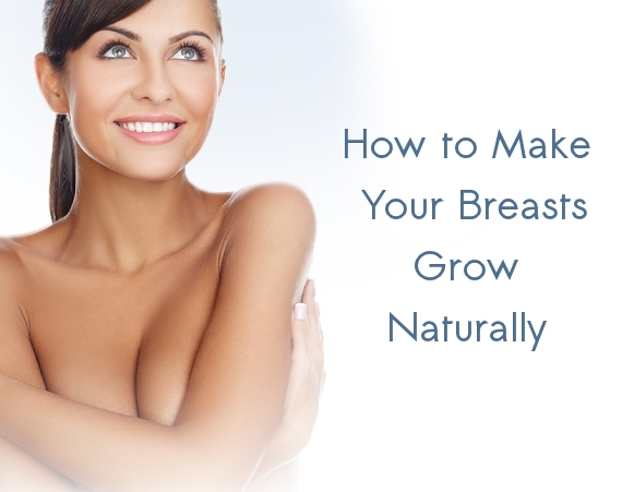 Woman Breast Natural Growth