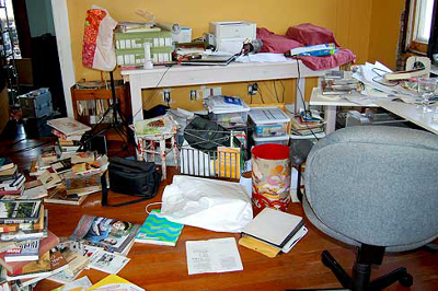 Domestic Clutter